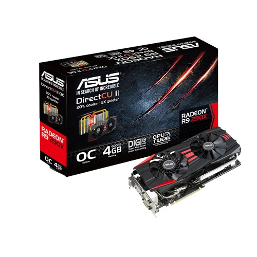 ASUS AMD RADEON R9 290X R9290X-G-4GD5 DRIVER