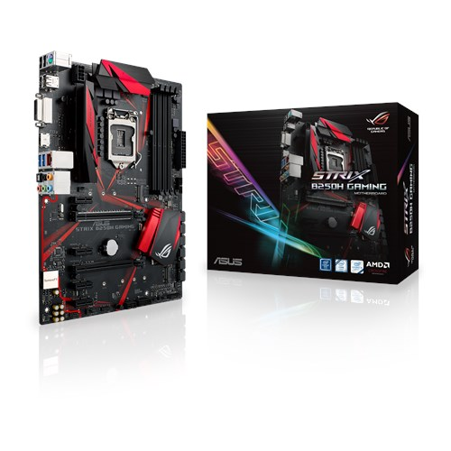 Tarjeta madre gaming ATX B250H Intel LGA-1151 con SupremeFX