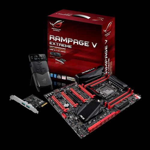 ASUS RAMPAGE V EXTREME/U3.1 ROG Connect Plus Windows 8 X64