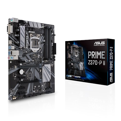PRIME Z370-P II | Motherboards | ASUS USA