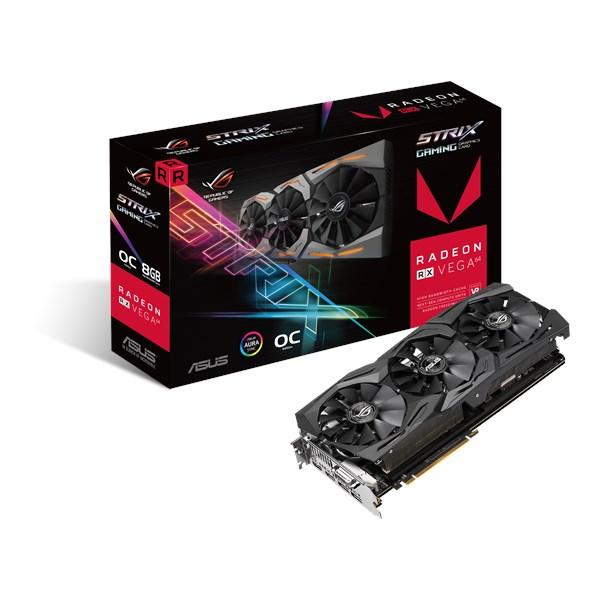 ROG-STRIX-RXVEGA64-O8G-GAMING | Graphics Cards | ASUS Global