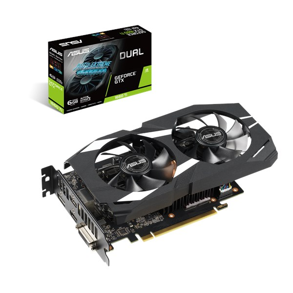 Image result for ASUS-DUAL GTX 1660 TI 6G