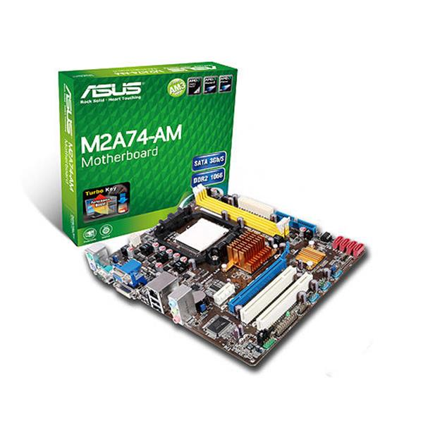 Asus m2a74-am motherboard