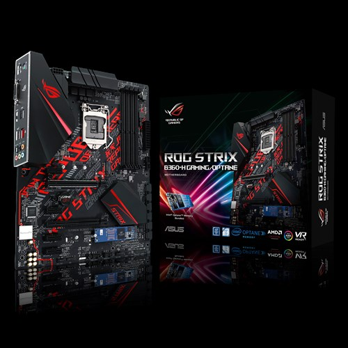 ROG STRIX B360-H GAMING/OPTANE   Motherboards