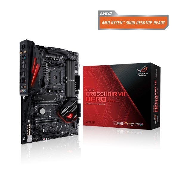 3770480f ROG CROSSHAIR VII HERO (WI-FI) | Motherboards | ASUS Global