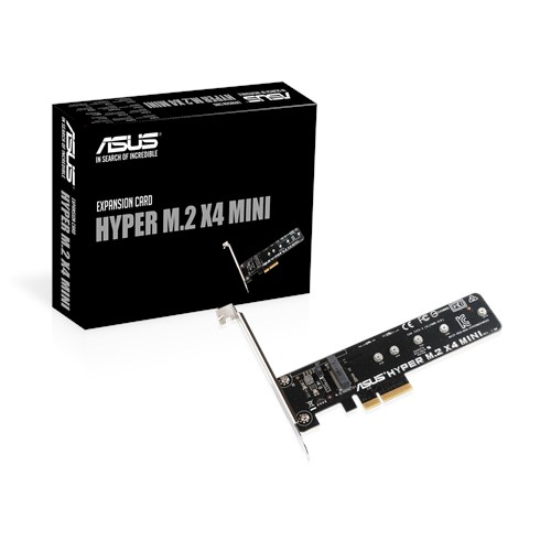 HYPER M 2 X4 MINI CARD | Motherboard Accessories | ASUS USA