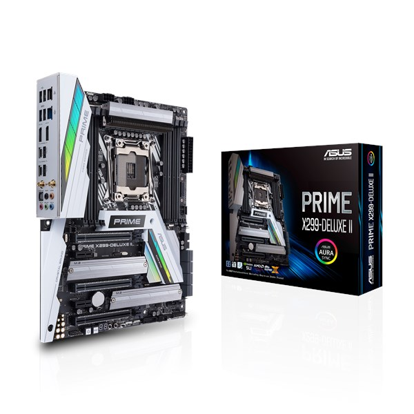 PRIME X299-DELUXE II   Motherboards   ASUS USA
