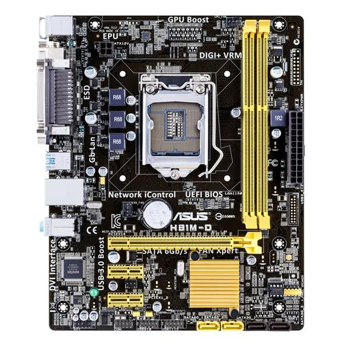 Drivers da Placa Mãe Asus H81M-D Windows 7
