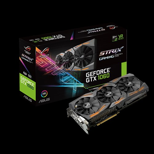 Rog Strix Gtx1060 6g Gaming Graphics Cards Asus Global