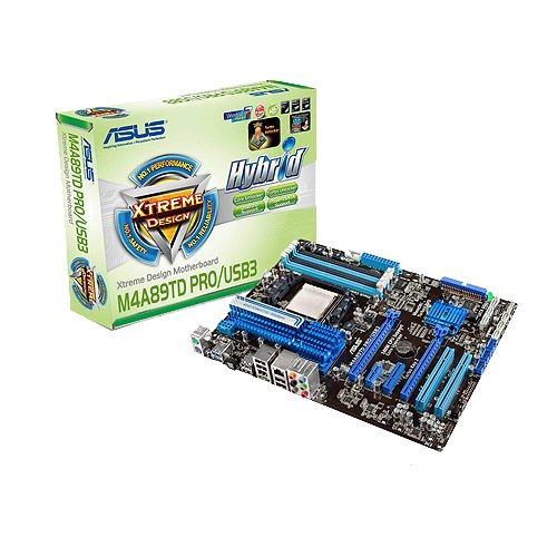 Asus M4A89TD PRO/USB3 AMD Chipset Drivers for Windows 7