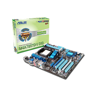 Asus M4A785TD-V EVO Drivers for Windows XP