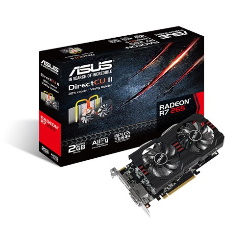 Asus R7265-DC2-2GD5 Drivers for Windows