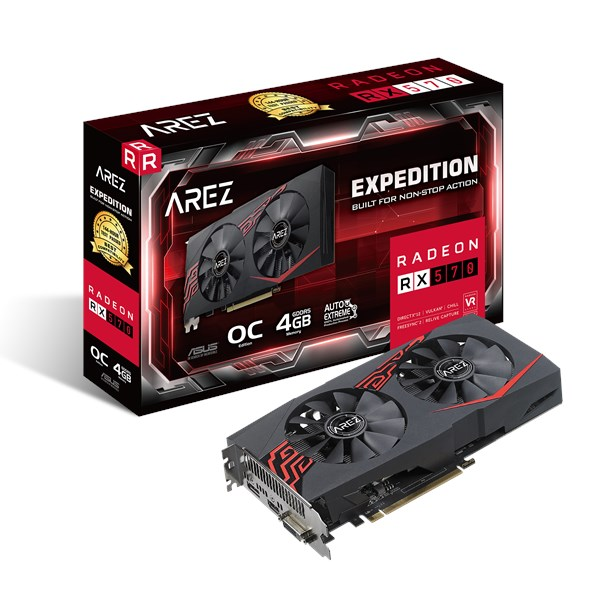 AREZ-EX-RX570-O4G | Graphics Cards | ASUS Global