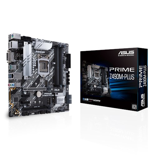 PRIME Z490M-PLUS | Motherboards | ASUS Global