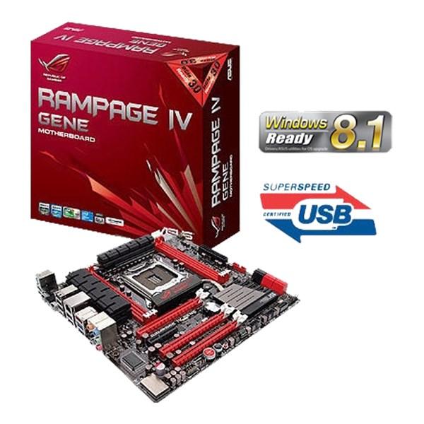 Asus Rampage IV Gene ROG GameFirst Drivers for Mac