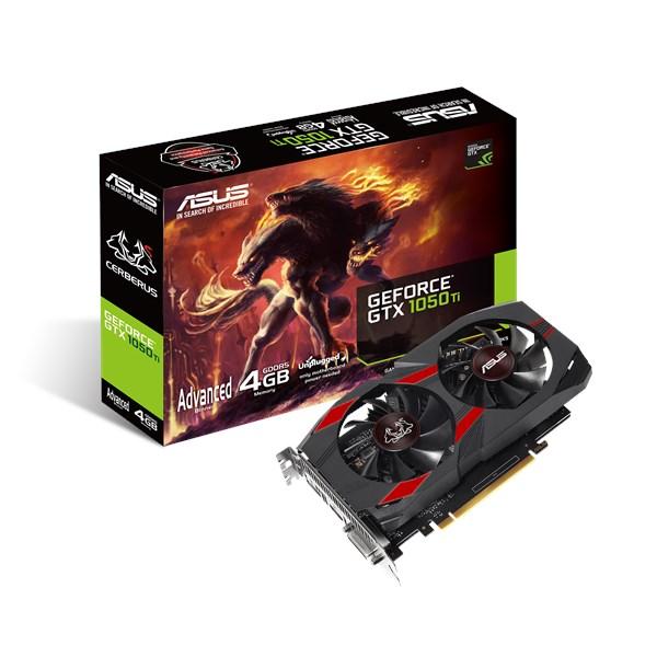 Cerberus GeForce® GTX 1050 Ti Advanced Edition | ASUS