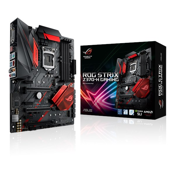ROG STRIX Z370-H GAMING CPU Support | Motherboards | ASUS USA