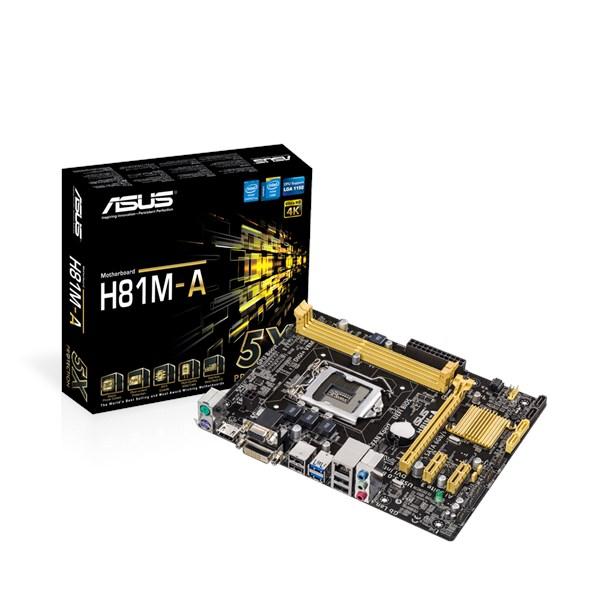 ASUS H81M-A Realtek LAN 64 BIT