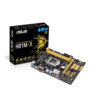 H81M-A CPU Support | Motherboards | ASUS USA