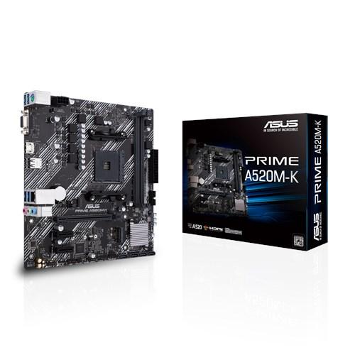 ASUS 華碩 PRIME A520M-K Micro-ATX 主機板