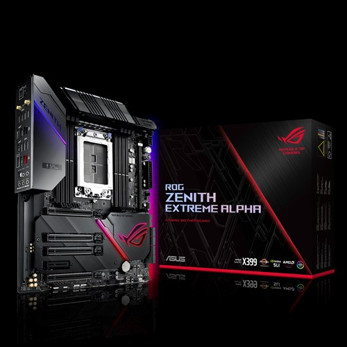ROG Zenith Extreme Alpha | Motherboards | ASUS USA