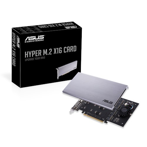 HYPER M 2 X16 CARD | Motherboard Accessories | ASUS USA