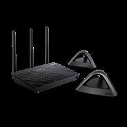 AiMesh AC1750 Wi-Fi System (1x RT-AC66U_B1, 2x Lyra Trio)