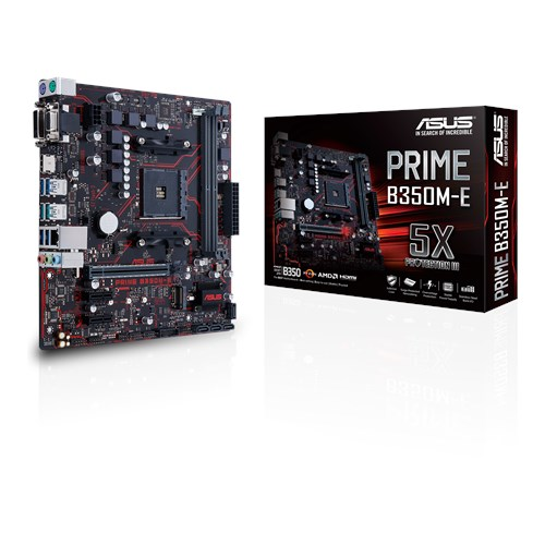 PRIME B350M-E | Motherboards | ASUS USA