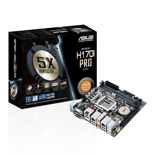 New Drivers: ASUS H170I-PRO Intel LAN