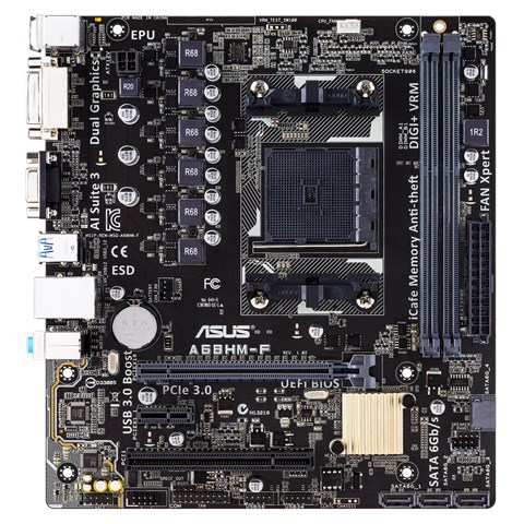 ASUS A68HM-F AMD Graphics Driver for Windows