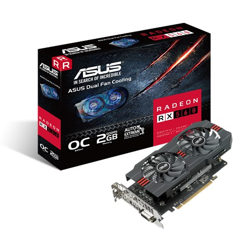 Asus Radeon RX 560 4GB Strix Graphics Card GPU AMD