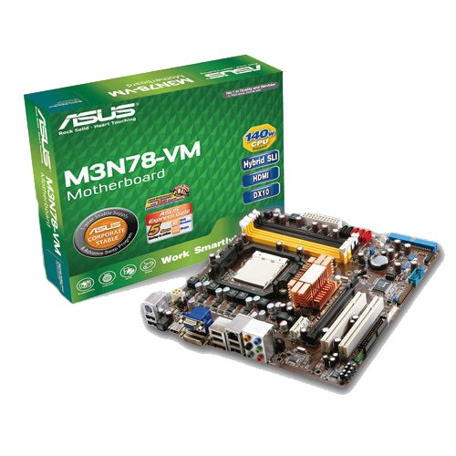 NEW DRIVERS: ASUS M3N78-VM HDMI