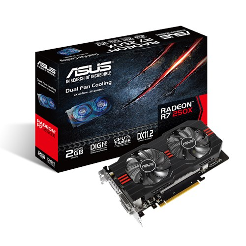 ASUS AMD RADEON R7 250X R7250X-2GD5 DRIVER DOWNLOAD (2019)