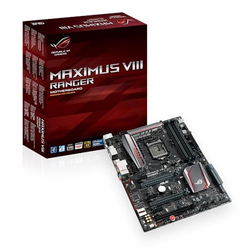 ASUS MAXIMUS VIII RANGER CHIPSET WINDOWS 10 DRIVER