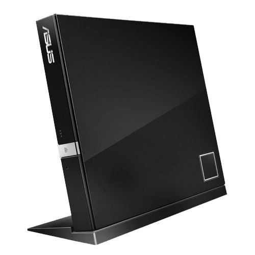 db314029588 ASUS Portable External Blu-ray Reader / DVD Burner Optical Disc Re-Writer  Drive in Black with M-Disc Support, USB 2.0, Mac and Windows OS Compatible