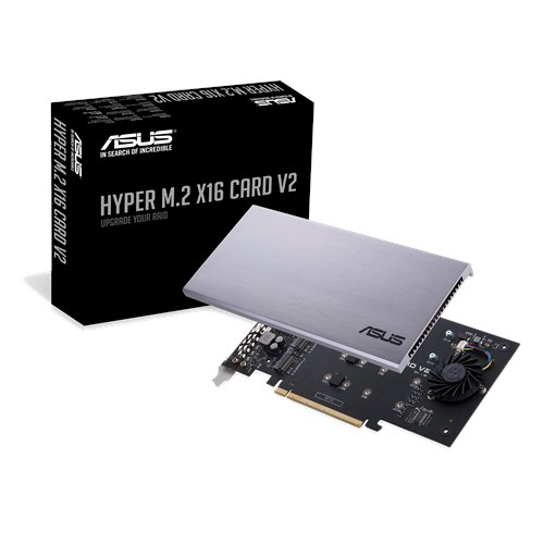 HYPER M 2 X16 CARD V2 | Motherboard Accessories | ASUS Global