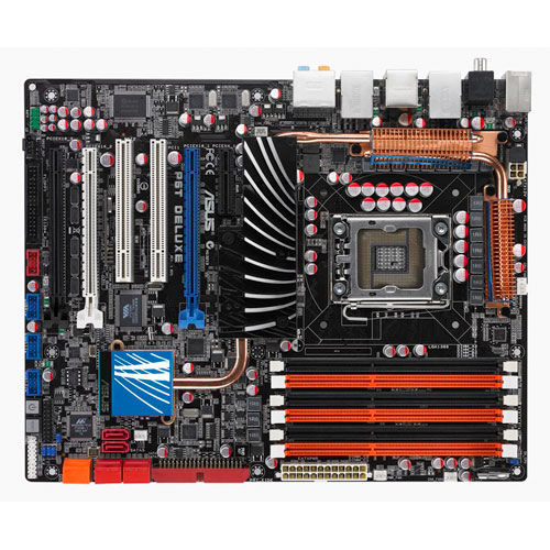 Asus P6T Deluxe Motherboard Drivers for Windows Download