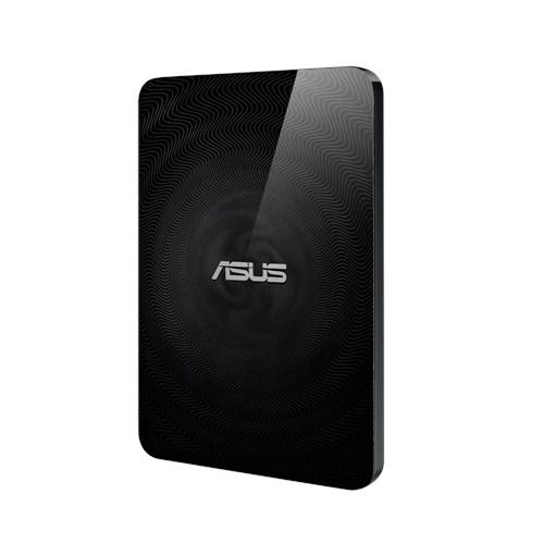 HD Asus Travelair N WHD-A2 - Conexão sem fio  e leitor de cartão SD com One-Touch NFC
