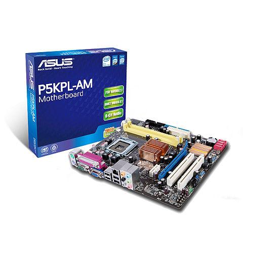 Asus p5kpl 1600 audio