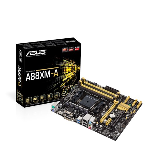 Asus A88XM-A AMD Graphics Last