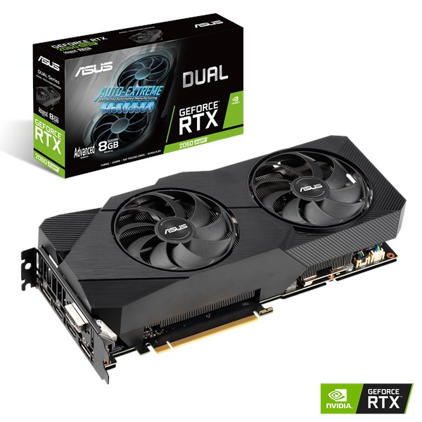 DUAL-RTX2060S-A8G-EVO | Graphics Cards | ASUS Global