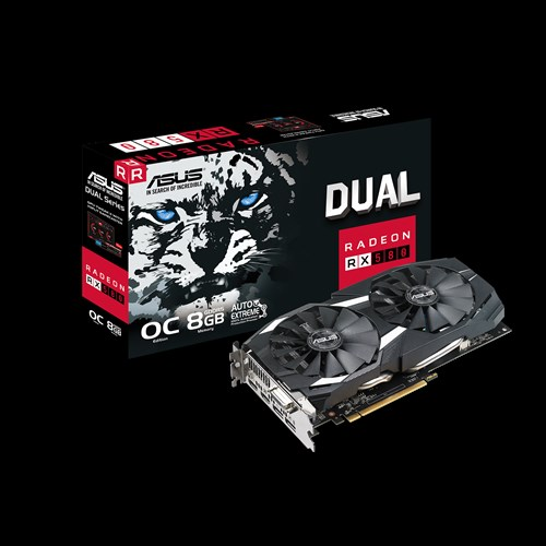 DUAL-RX580-O8G | Graphics Cards | ASUS Global
