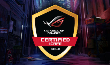 ROG ICafe Certified