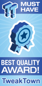 TweakTown Best Quality Award