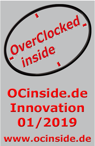 OCinside.de Innovation Award 01/2019