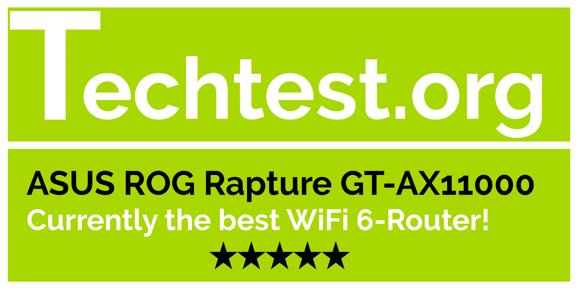 Currently the best WiFi 6-Router!