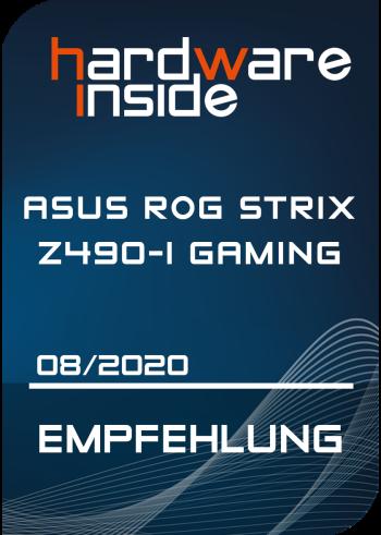Hardwareinside recommendation ASUS ROG STRIX Z490-I Gaming