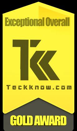 Teckknow.com Gold Award