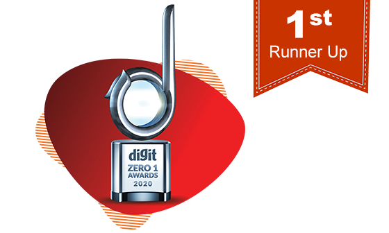 Digit Zero1 Runner-up