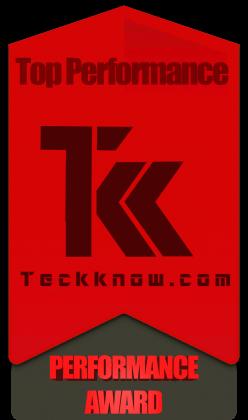 Teckknow Performance Award